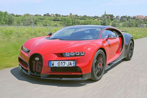 Bugatti ne connaît pas la crise