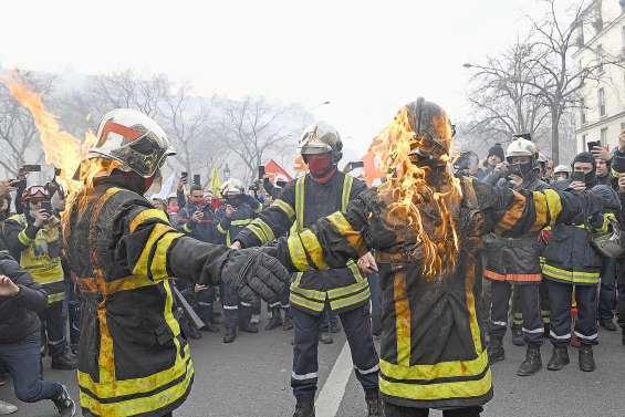 Les pompiers mettent fin à leur mobilisation