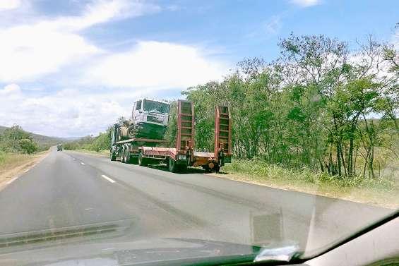 Accident entre deux camions, la circulation perturbée sur la RT1