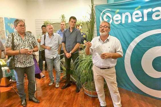 Générations Nouméa inaugure  son QG de campagne