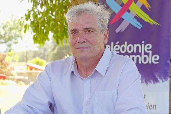 Patrick Laubreaux candidat Calédonie ensemble sur la liste Mont-Dore solidaire