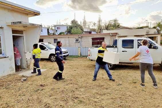 La Croix-Rouge de Koné a reçu des dons de l'usine du Nord