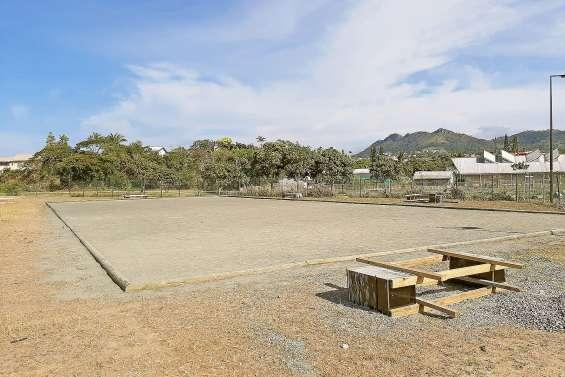 Le nouveau boulodrome ouvrira lundi  au complexe sportif de Koutio