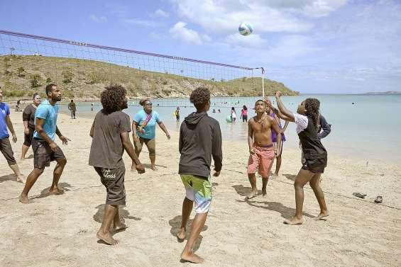 Succès pour cette première édition de Nouméa plage au Kuendu Beach