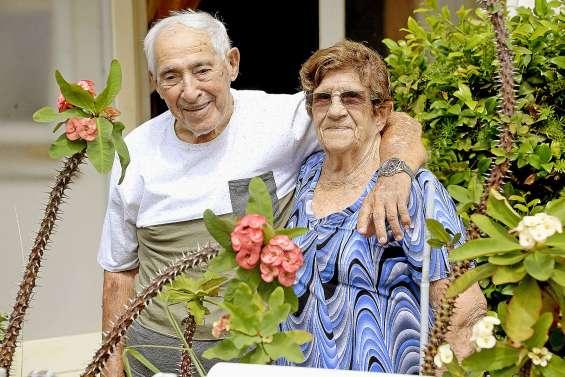 Les époux Verlaguet se sont dit oui il y a soixante-dix ans