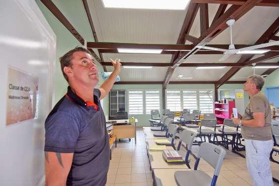 Portes sécurisées et travaux de confort pour les écoles de la commune