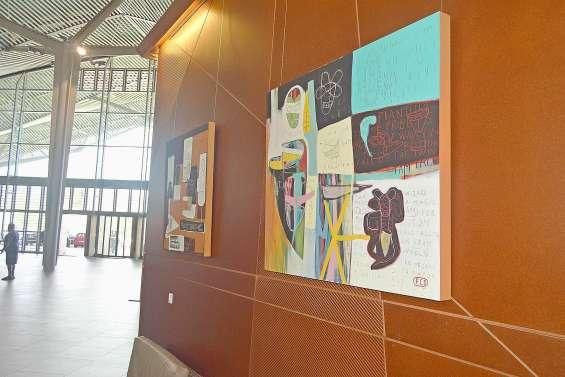 Les œuvres de Stéphane Foucaud exposées au Médipôle