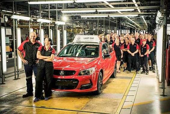 Holden, la fin d'une belle saga automobile