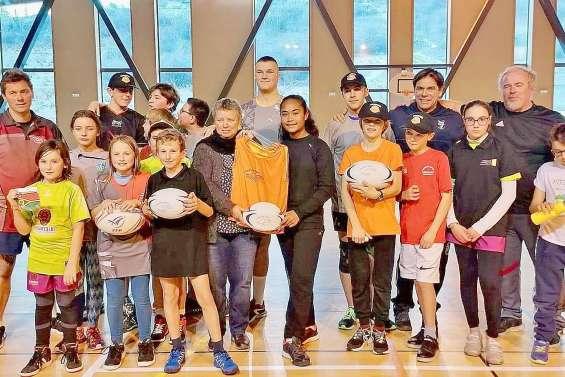 Un voyage de deux mois en France grâce à sa passion pour le rugby