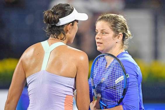 Une défaite et des espoirs pour Kim Clijsters