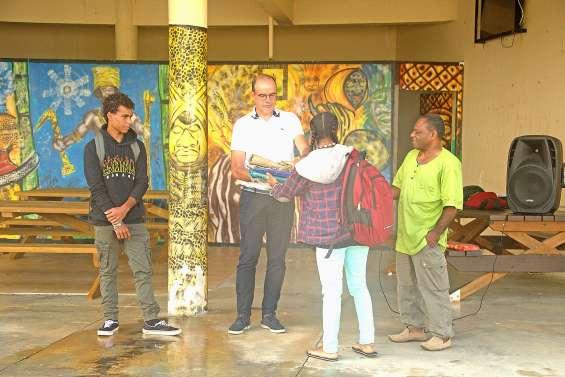 La rentrée placée sous le respect des valeurs au lycée Antoine-Kéla