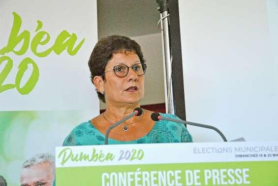 Soutenue par Calédonie ensemble, Yolande Verlaguet lance sa campagne