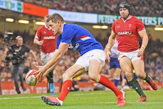 Un XV de France héroïque à Cardiff