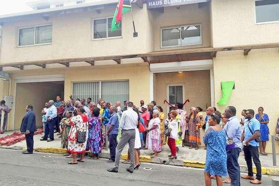 La « Maison du Vanuatu » inaugurée à Nouméa