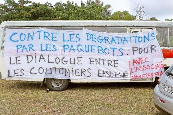 Une marche à Lifou pour dénoncer les impacts environnementaux des paquebots