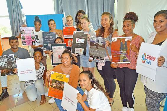 Au lycée du Grand Nouméa, la Génération égalité s'exprime