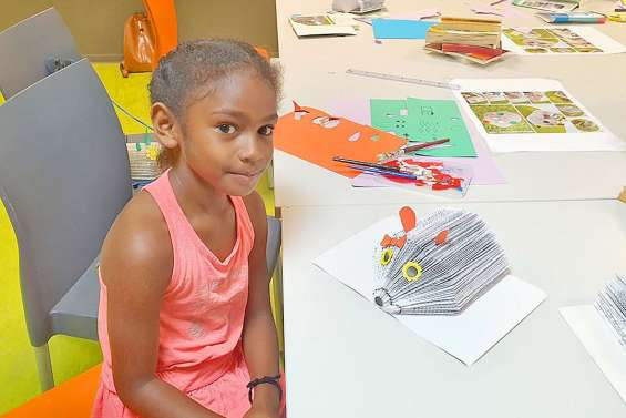 Un mercredi pour les enfants à la médiathèque