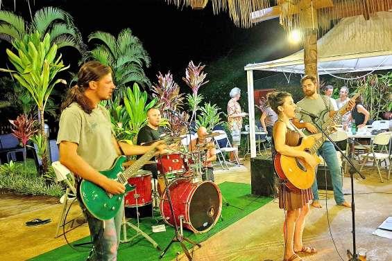 Du bon gros rock  à l'Oasis de Kiamu