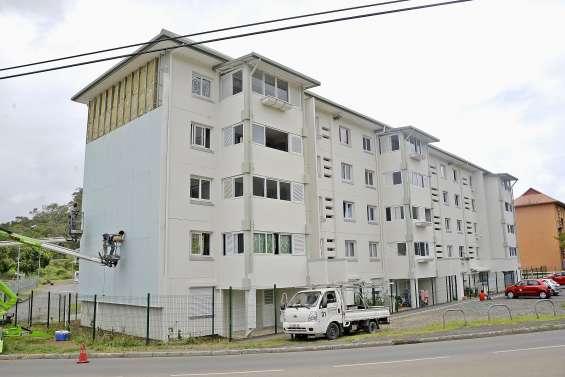 La rénovation d'un premier bâtiment commence à changer Pierre-Lenquette