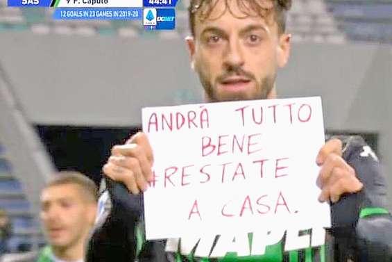 Francesco Caputo, le messager de l'Italie