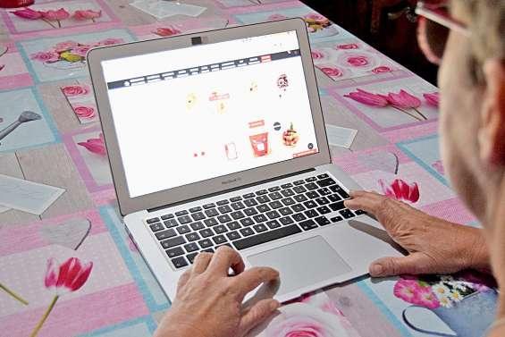 Les courses peuvent se faire devant l'ordinateur