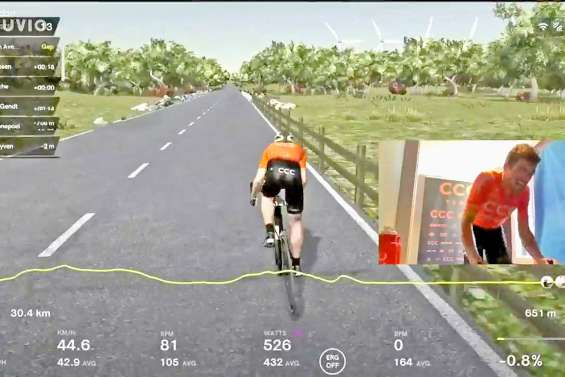 Van Avermaet gagne le Tour des Flandres depuis son grenier