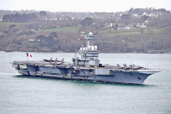 Suspicion de cas à bord du Charles-de-Gaulle