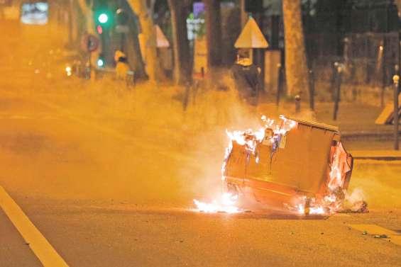 Tensions dans des banlieues en Ile-de-France