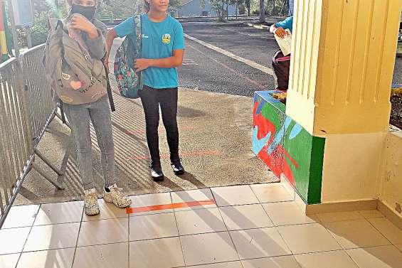 Retour en classe sans bousculade à Kawa-Braino