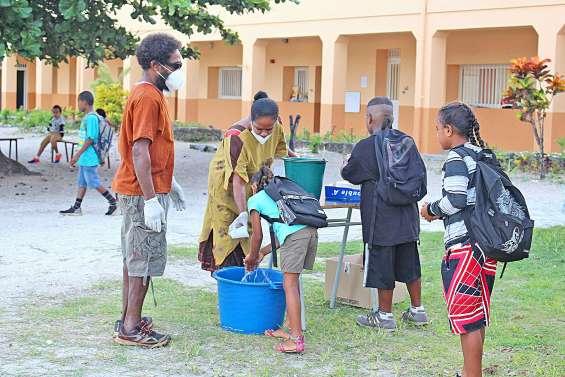 Rentrée aménagée dans les établissements scolaires d'Ouvéa