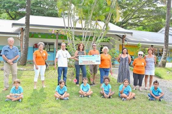 Le Kiwanis apporte sa contribution aux écoles