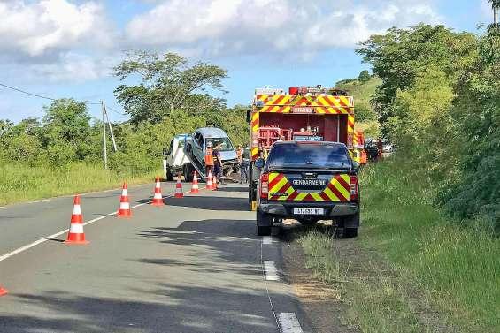Un accident fait deux blessés à La Foa et provoque des bouchons