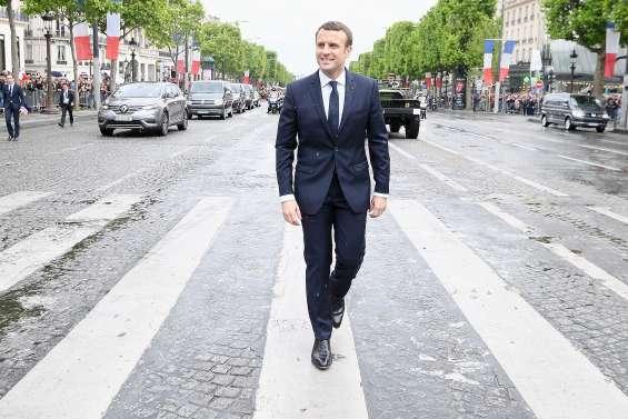 Après trois ans à l'Elysée, Macron plonge dans l'inconnu