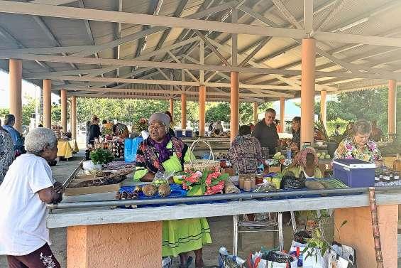 Une reprise timide du marché municipal