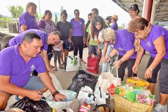 Le Kiwanis Tiaré Païta apporte son soutien à la grande famille de l'aéroport