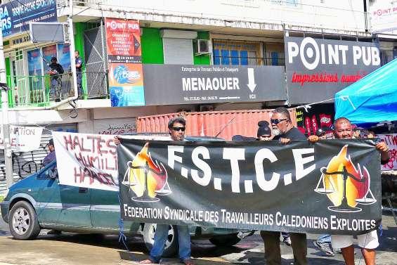 Bras de fer entre la société Menaouer et la FSTCE à Ducos