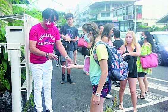 A Papeete, un retour à l'école dans des conditions particulières
