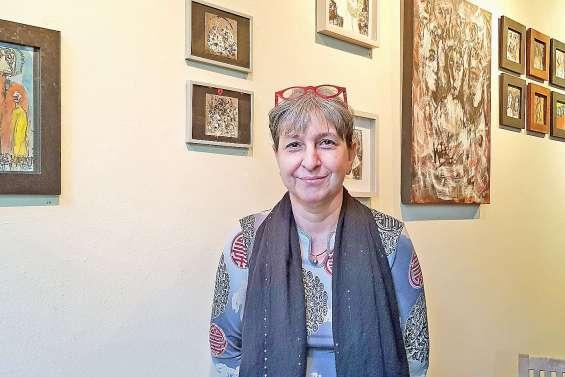 Corine Belec, l'art au visage