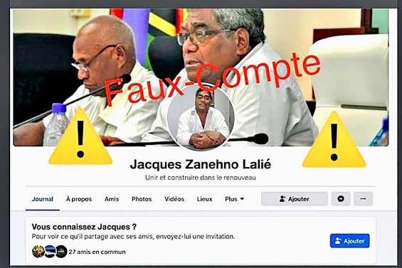 Circulation d'un faux profil Facebook de Jacques Lalié
