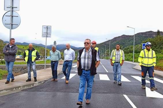 Le nouveau tronçon de la route de la Quarantaine ouvre aujourd'hui