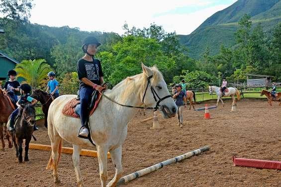 Au Yala-Ranch, les jeunes cavaliers se remettent en selle