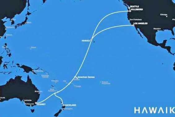 Plus de puissance sur le câble reliant Sydney aux USA