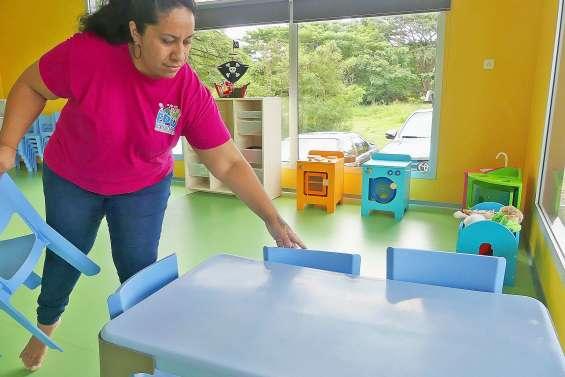 Un centre d'accueil pour enfants inauguré au village