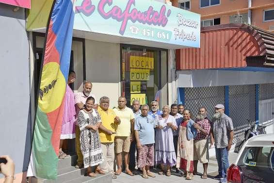 Le « local pour le oui » inauguré à Nouméa