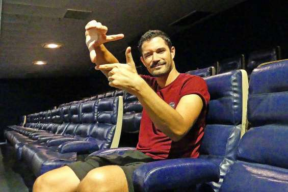 Jérôme Roumagne, la Calédonie sur grand écran