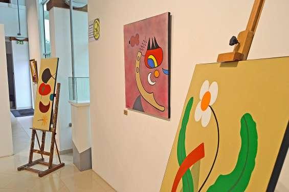 Les œuvres de Pierre Nanty exposées au centre culturel