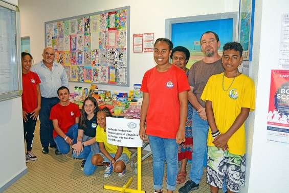 Le collège Djiet vient en aide aux familles nécessiteuses