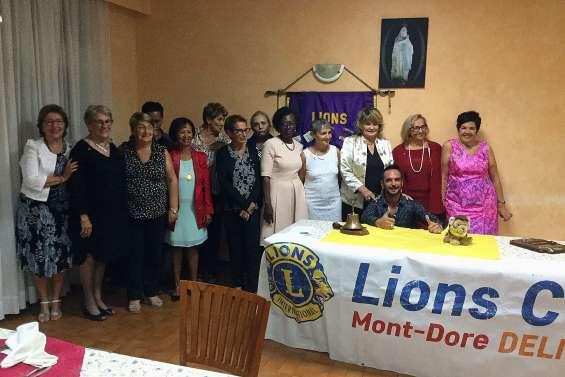 Nouvelle présidente à la tête du Lions club Deliciosa