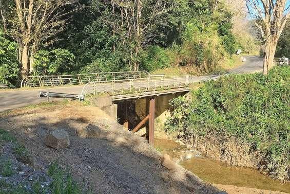 Le pont de la Névou rouvert aux 19 tonnes