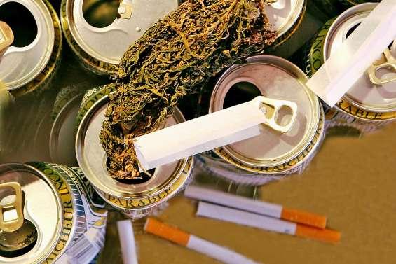 Les Calédoniens champions de l'alcool, du tabac et du cannabis